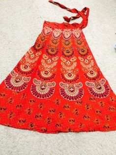 Skirts Dress Gypsy Hippie Womens Boho Floral Clothing by Artsiart, $19.99