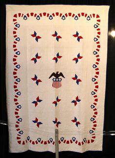 Antique Americana quilt