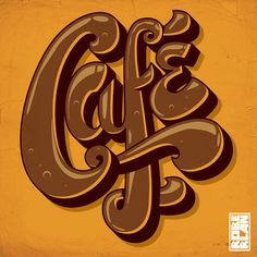 When I see this, I can imagine a coffee shop. With the color and the shaping of it. The letters seem a bit embellished to me.