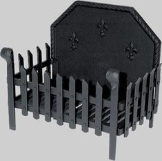 Cast iron fire basket including back plate with fleur-de-lis motif. Available in two sizes, please select desired size from the drop down list.We recommend having a few smaller fires to begin with to allow your fire grate to expand slowly when brand new. Garden Fire Pit, Fire Pit Patio, Diy Fire Pit, Outdoor Fire, Fire Pit With Rocks, Fire Basket, Fire Pit Materials, Fire Pit Ring, Steel Fire Pit
