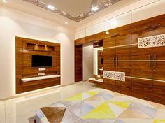 Dupex bungalow at Kolhapur designed by Culturals interior designers Cupboard Design, Bedroom Closet Design, Bedroom Furniture Design, Interior Design Bedroom, Modern Bedroom Design, Bedroom False Ceiling Design, Bedroom Bed Design, Indian Bedroom Design, Modern Bedroom Interior