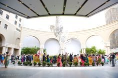 Barat in front of the hotel, what a fun start to the wedding day! #westingaslampweddings #outdoorweddingsandiego #indianwedding #indianweddingsandiego