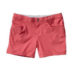"""PATAGONIA WOMEN'S QUANDARY SHORTS - 5"""" $59 Lightweight shorts in a stretch-woven nylon/spandex blend that perform in or out of water; with 40-UPF sun protection; 5"""" inseam."""