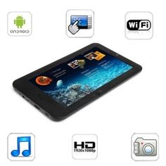 7 Inch Android 4.0 MID Tablet PC with 8GB Capacitive Touchscreen AllWinner A13 Processor 1GHz