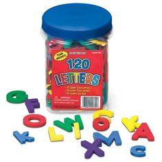 Patch Products Letters Foam Magnet Set