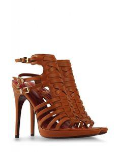 sandalia cesare paciotti marrón