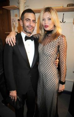 kate moss + marc jacobs