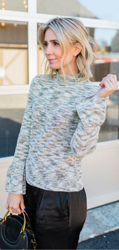 Dressy Sweater. Dressy SweatersWinter Fashion OutfitsAutumn ... 793ef2768