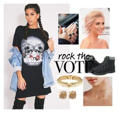 """ROCK"" by cococharlie ❤ liked on Polyvore featuring Ashley Stewart, Chloe + Isabel, Alexis Bittar and Lucky Brand"