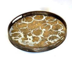 Small Watermark Tray - Driftwood