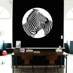 Zebra - Fabric Sticker