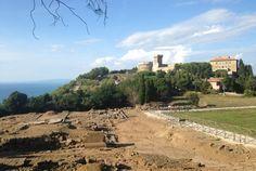 Visitare il Parco archeologico di Populonia e la rocca