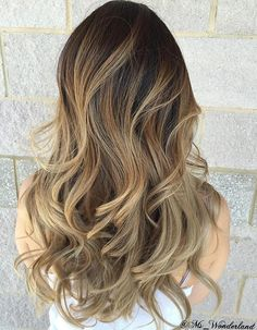 Brown Blonde Ombre Balayage
