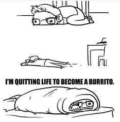 One of those burrito days