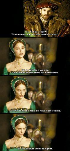 the other boleyn girl costumes ~ boleyn girl ; the other boleyn girl ; the other boleyn girl costumes ; the other boleyn girl quotes ; eric bana the other boleyn girl Period Movies, Period Dramas, Movies Showing, Movies And Tv Shows, Nathalie Portman, The Other Boleyn Girl, Anne Boleyn, Drama Film, Badass Women