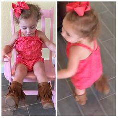 """Elliot is loving her new #Mocs! She loves watching the #fringe when she twirls ☺️ These come in toddler and little girl sizes in tan and black!  Toddler Size 5-10 And little girl 12-4! $34.99 Elliot is 17months wearing a size 6 #dcsbaby #dcsmodel #shopdcs #dcsbabyrep"" Photo taken by @daviscountrystore on Instagram, pinned via the InstaPin iOS App! http://www.instapinapp.com (09/10/2015)"