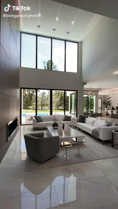 Dream House Interior, Luxury Homes Interior, Luxury Decor, Modern Mansion Interior, Luxury Homes Dream Houses, Small Luxury Homes, Ultra Modern Homes, Modern Contemporary Homes, Beautiful Houses Interior