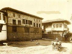Bursa-Muradiye..1894.Fatih Sultan Mehmed' in doğduğu ev olarak bilinen,günümüzde Osmanlı Müzesi olarak kullanln bina