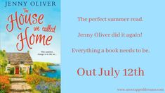Book Review: The House We Called Home by Jenny Oliver Book Review, Reading, Books, House, Libros, Home, Book, Reading Books, Haus