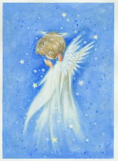 Leading Illustration & Publishing Agency based in London, New York & Marbella. Christmas Drawing, Christmas Paintings, Christmas Angels, Christmas Art, Angel Drawing, I Believe In Angels, Ange Demon, Angel Pictures, Angel Cards