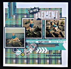 Rose Blossom Legacies: Scrapbook Generation Blog Hop using Close To My Heart Later Sk8r