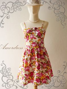 There's so many cute dresses for summer.  Too young for me.  But if they weren't, I would sure be making them.