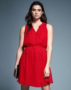 645a50e6e68c Womens scarlet naf naf beautiful sleeveless dress from Lipsy - £46 at  ClothingByColour.com
