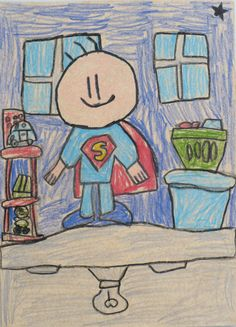 Alexander, 10, from Trinidad & Tobago ... Superboy has skills. Did you see the toys? ♥