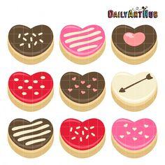 Heart Donuts  2-5-16