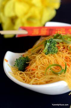 Singapore Street Noodles, Gluten free