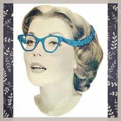 Un peu de #vintage en ce #lundi! #monday #eyewear #retro