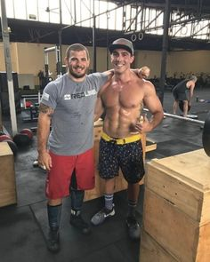 Fittest man on Earth @mathewfras is down under at the moment.  Have you been lucky enough to catch up with him?  Can't wipe the smile off @matty.lavs.fitness's face. It goes well with his TWL Happy Shorts!