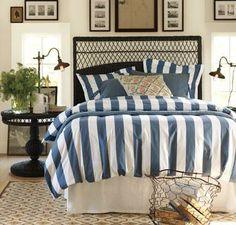 pottery barn nautical bedroom - Google Search