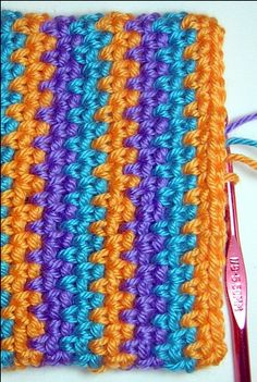 The Basket Weave Stitch Pattern is beautiful and easy. Free instruction on the web. http://www.moms-crochet.com/basket-weave.html
