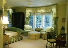 Traditional Cream Green Bedroom Design To Freshness Your Room