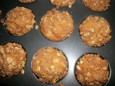 Whole Wheat Sweet Potato Oat Muffin