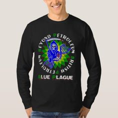 Shop british petroleum blue plague T-Shirt created by truthinducedparanoia. Personalize it with photos & text or purchase as is! Types Of T Shirts, Biker T Shirts, Tshirt Colors, Funny Tshirts, Shirt Style, Fitness Models, Your Style, Shirt Designs, Softball