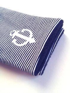 Armstulpen - Armstulpen AHOI schwarz weiß Stulpen Anker - ein Designerstück von…