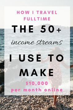 50+ income ideas for bloggers to make $10,000 each month online. 50+ extra income ideas from home earn money. You can use this tips if you want to make extra income Australia of extra income from home. Making money blogging for beginners and making money passive income for bloggers.