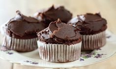 Maggie Beer's Chocolate and Beetroot Cupcakes