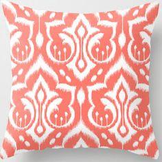 coral throw pillows - Google Search
