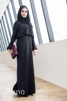 Abaya Fashion, Muslim Fashion, Cap Dress, Dress Up, Fashion Show, Fashion Outfits, Womens Fashion, Modele Hijab, Mode Abaya