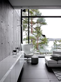 """""""The art of simplicity is a puzzle of complexity. Scandinavian Interior Design, Scandinavian Home, Modern Interior Design, Interior And Exterior, Hm Home, Dream House Interior, Minimalist Living, Dream Decor, House In The Woods"""