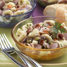 Muffaletta Pasta Salad   MyRecipes.com