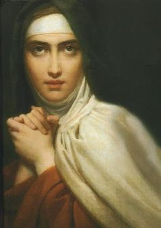Saint of the Day: Saint Teresa of Avila (St. Teresa of Jesus) O God, who through your Spirit raised up Saint Teresa of Jesus to show the Church the way to seek perfection, grant that we may always be. Catholic Art, Catholic Saints, Patron Saints, Roman Catholic, Religious Art, Catholic Quotes, Sainte Rita, Ste Therese, Saint Teresa Of Avila