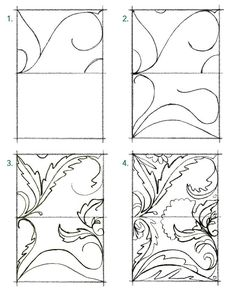 Pattern Play with Jeanetta: How to Create a Pattern in the style of William Morris – 2019 - Fabric Diy William Morris Patterns, William Morris Art, Surface Pattern Design, Pattern Art, Print Patterns, Design Patterns, Do It Yourself Design, Floral Drawing, Arts And Crafts Movement