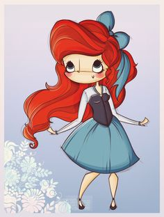 -I'm chibi Ariel, whatever, if you saw my movie, you know who i'm. I'm just here…