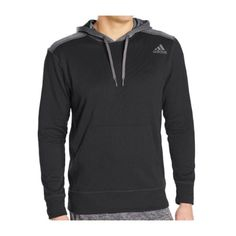 ONLY $29.99! Adidas Climawarm Black Fleece Hoodie - Mens