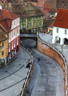 Former centre of the Transylvanian Saxon community, the old city of Sibiu was ranked by Forbes as Europe's 8th most idyllic places to live in.