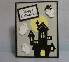 Project Center - Halloween Ghost Party: Create a Critter 2 Card
